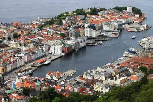View of Bergen by Pixabay