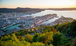 View of Bergen by Sverre Hjornevik, Fjord Norway