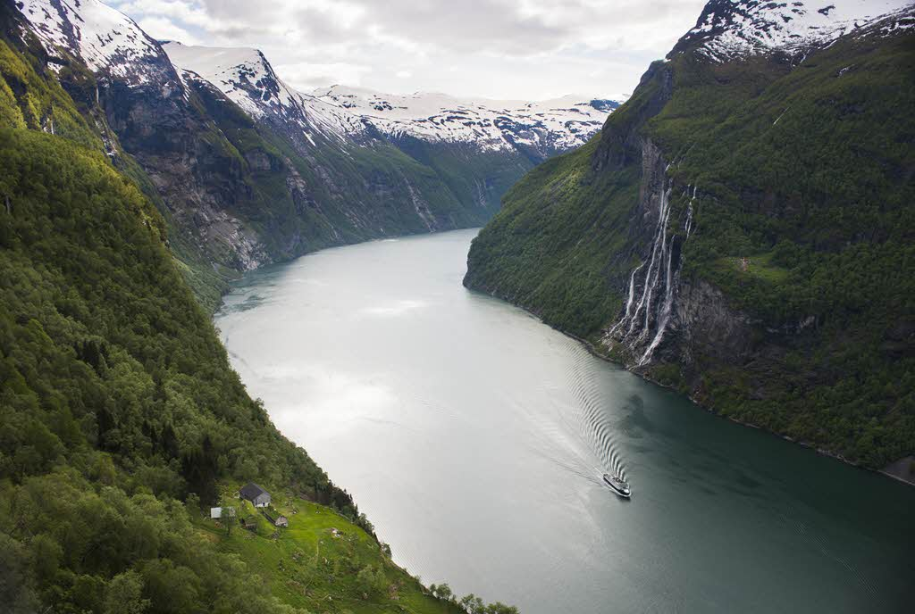 View of UNESCO Geirangerfjord by CH, Visit Norway