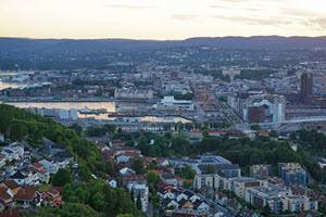View of downtown Oslo by Tord Baklund, Visit Oslo