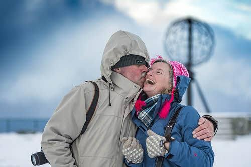 Visit North Cape in winter by Orjan Bertelsen, Hurtigruten