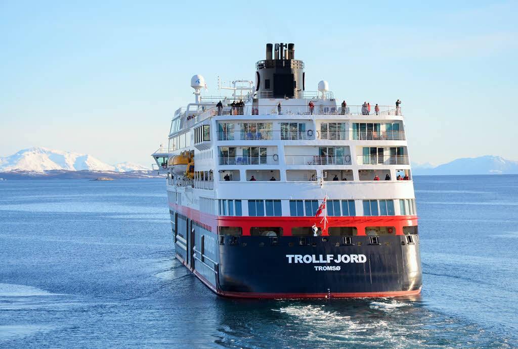 Winter Cruise in Norway by Trond Gansmoe Johnsen, Hurtigruten