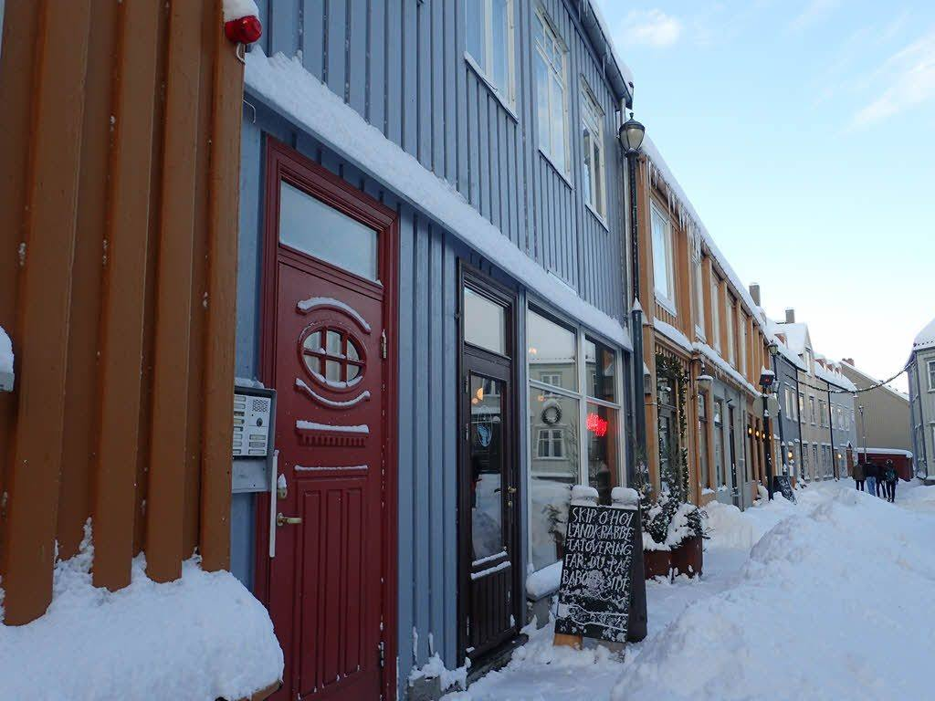Winter in Trondheim by Camilla Johnsen, Hurtigruten