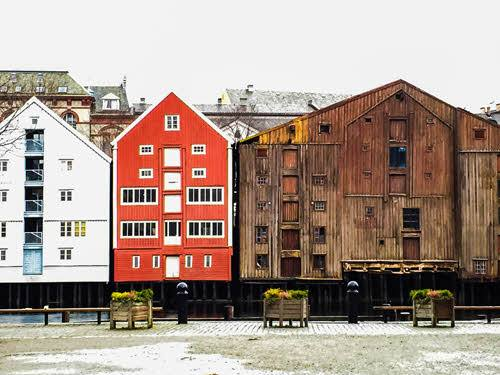 Winter in Trondheim by cabday, Foap, Visit Norway