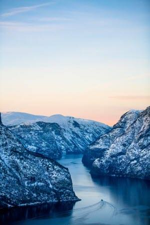 Winter Fjord tour. Sverre Hjornevik, Flam AS