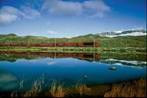Bergen line. Photo by RM Sorensen NSB