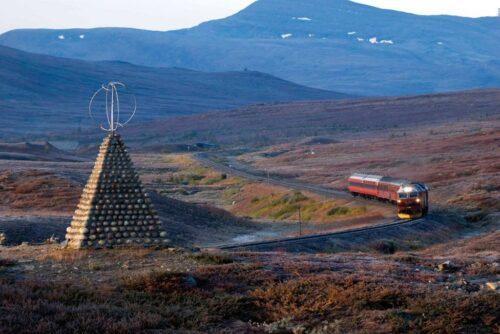 Nordland line. Photo by Rune Fossum, NSB