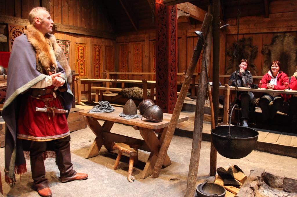 Lofotr Viking ship museum. Photo by Roger Johansen, Nordnorsk Reiseliv