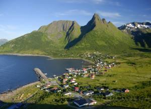 Lofoten islands Norway. Photo by Reiner Schaufler, Nordnorsk Reiseliv