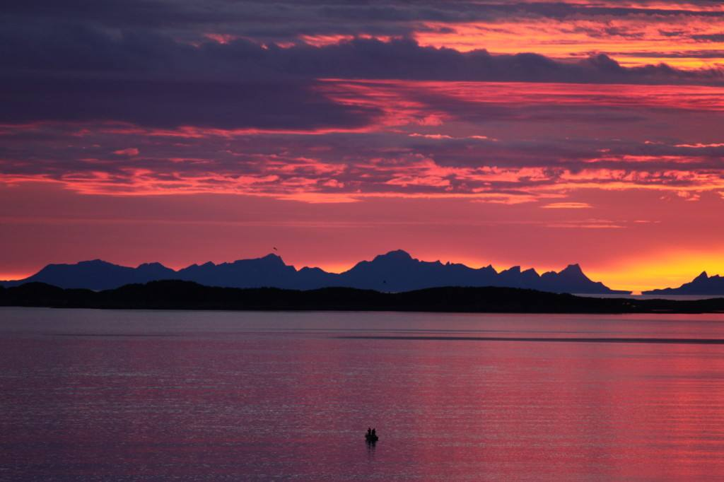 Arctic Bodo area, Norway. Photo by Roger Johansen, Nordnorsk Reiseliv
