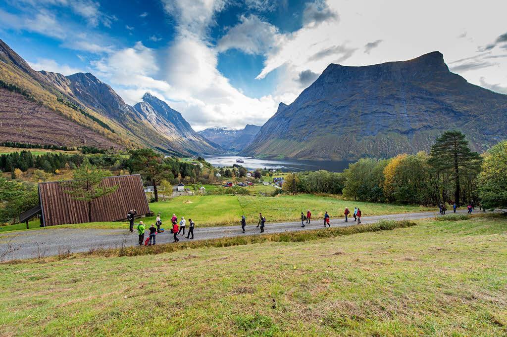 A taste of Norway Hjorundfjord excursion by Orjan Bertelsen, Hurtigruten