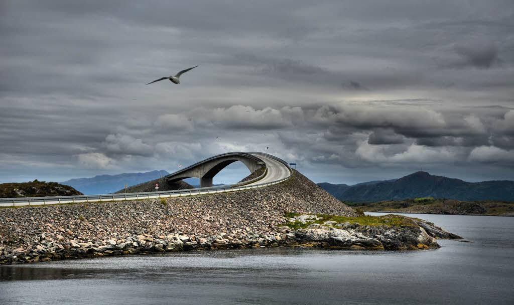 Amazing Atlantic Ocean Road by M. Dickson,Foap, Visit Norway