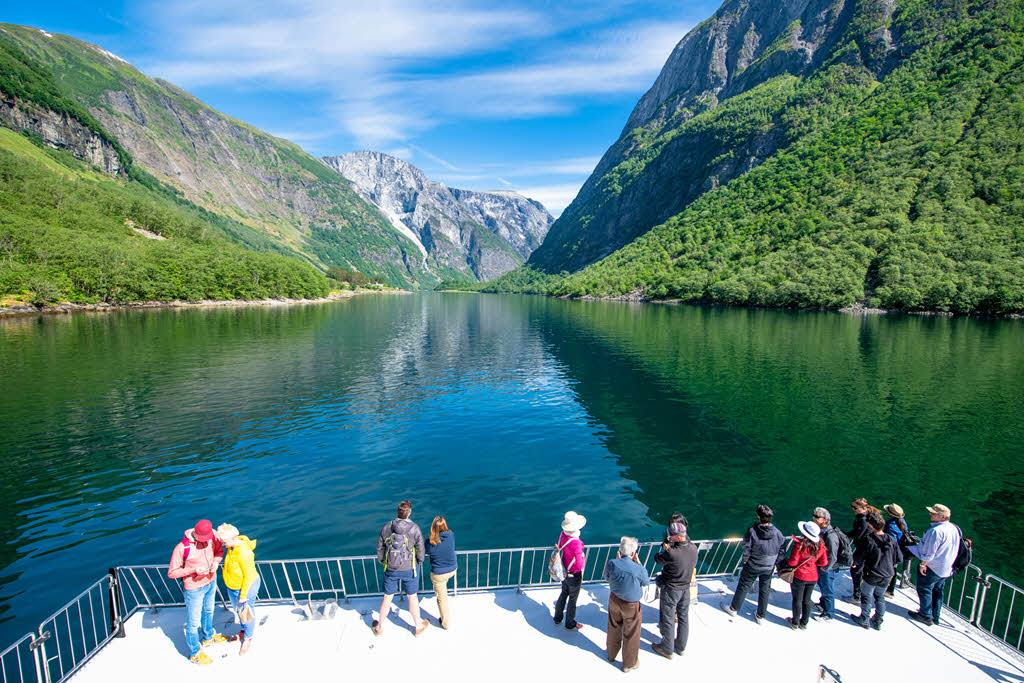 Amazing UNESCO Naeroyfjord by Sverre Hjornevik, Flam AS