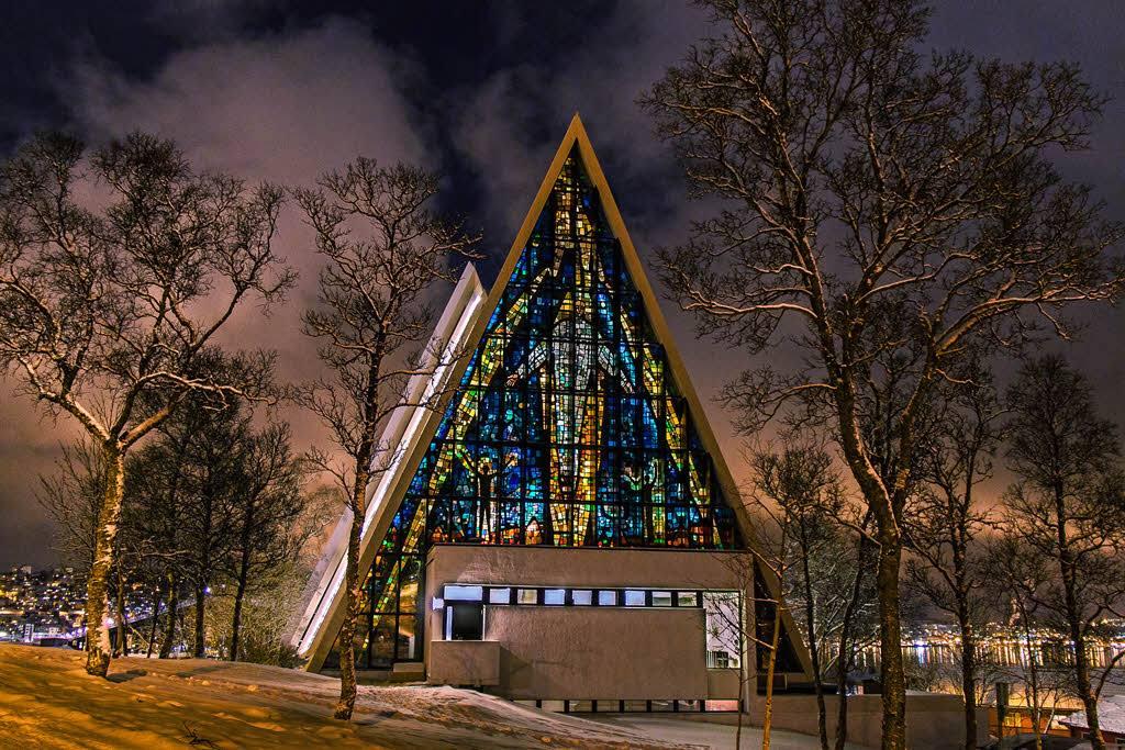 Arctic Cathedral Tromso by Niel Goslett, Hurtigruten