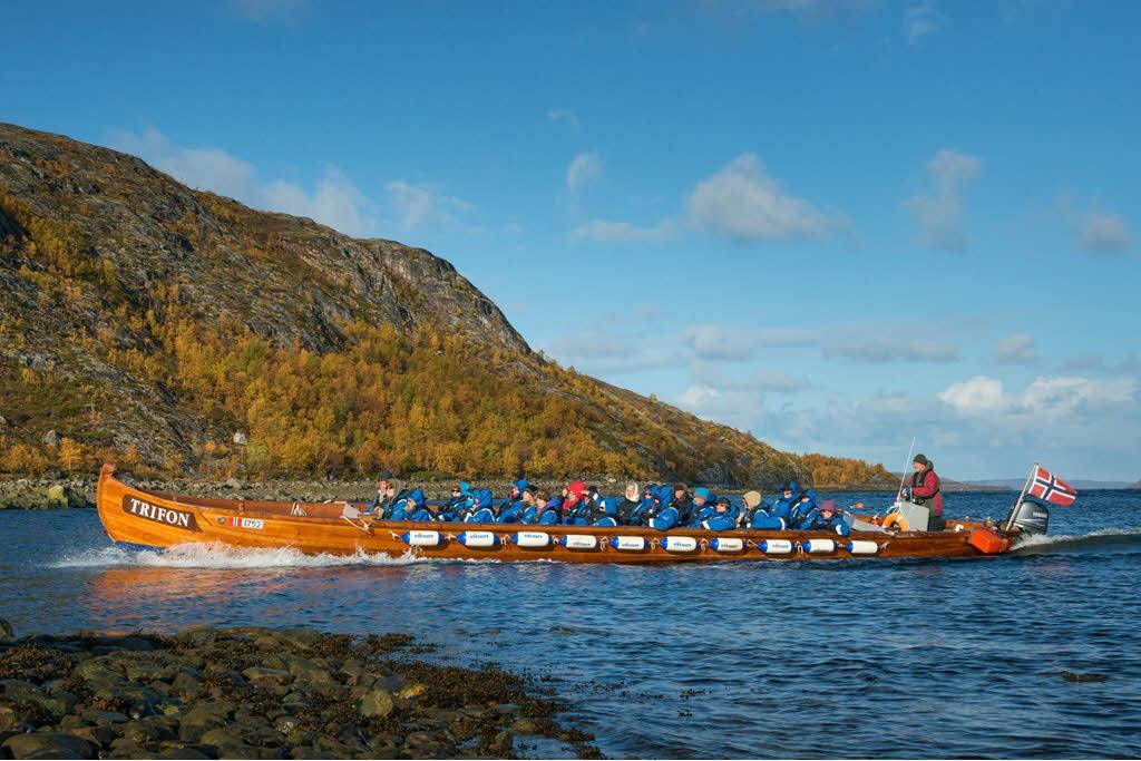 Boat trip to the Russian border by Nina Helland, Hurtigruten