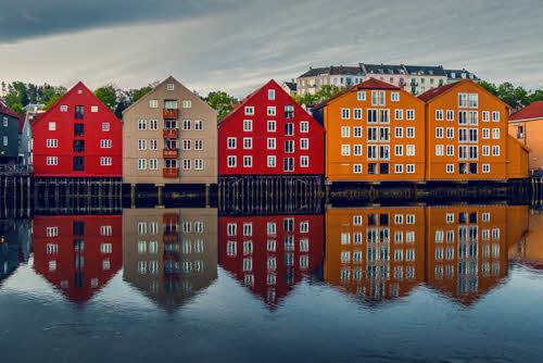 Colourful Trondheim by Petr Pavlicek, Visit Trondheim