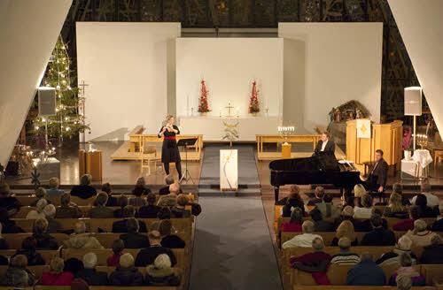 Concert at the Arctic Cathedral by Thomas Haltner, Hurtigruten