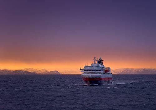 Cruise along the Norwegian Coast by John Jones, Hurtigruten