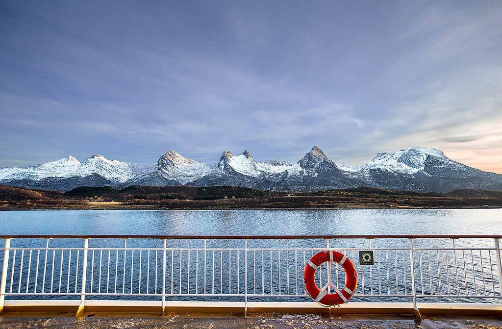 Cruise along the magic Helgeland Coast by Ott, Hurtigruten