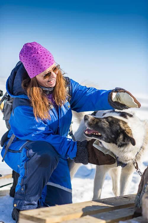 Experience dog sledding by Orjan Bertelsen, Hurtigruten