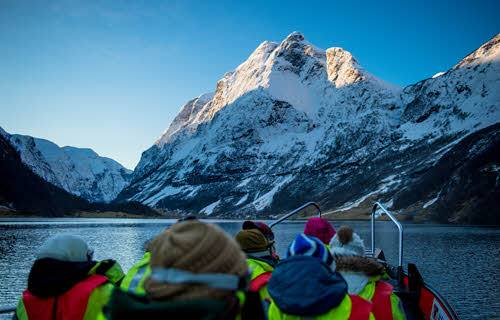 Fjord Safari in winter by Sverre Hornevik, Fjord Norway