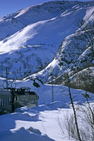 Flam Railway. Photo by RM Sorensen, Flam Utvikling