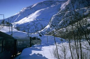 Flam Railway. Photo by RM Sorensen, Flam Utvikling