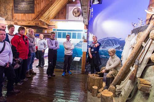 Guided tour at the Polar Musem Tromso by Orjan Bertelsen, Hurtigruten