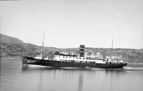Historical Hurtgruten Ship by Hurtigruten Museum