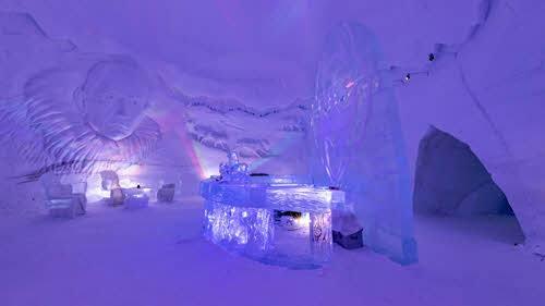 Ice Bar at Kirkenes Snowhotel by Kirkenes Snowhotel