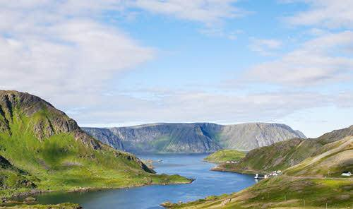 Landscape close to the North Cape by Pixabay