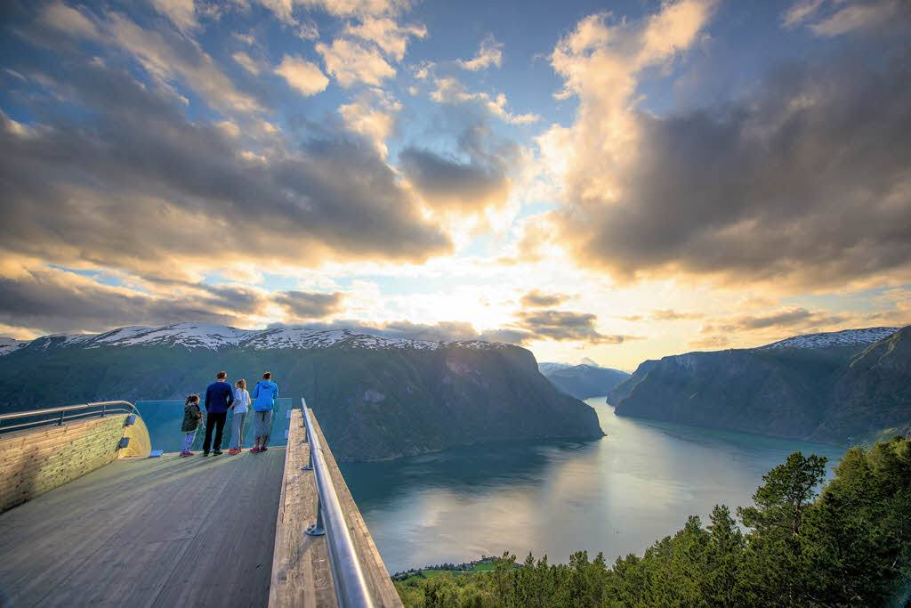 Majestic Sognefjord by Sverre Hjornevik, Fjord Norway