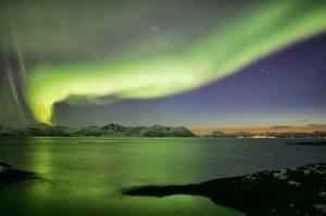 Northern Lights - Aurora Borealis in Norway. Photo by Frank Andreassen/VisitNorthernNorway