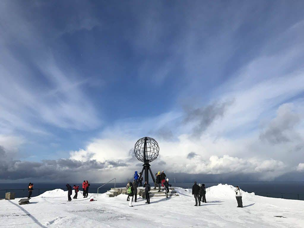 North Cape in winter by Pixabay