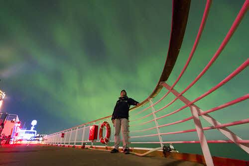 Northern Lights Cruise Hurtigruten by Magnus Sabel, Hurtigruten