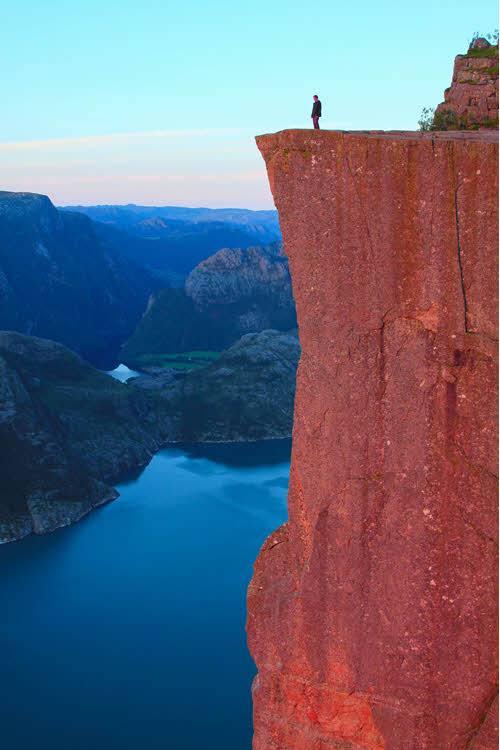 Pulpit Rock by Paul Edmundson, Fjord Norway