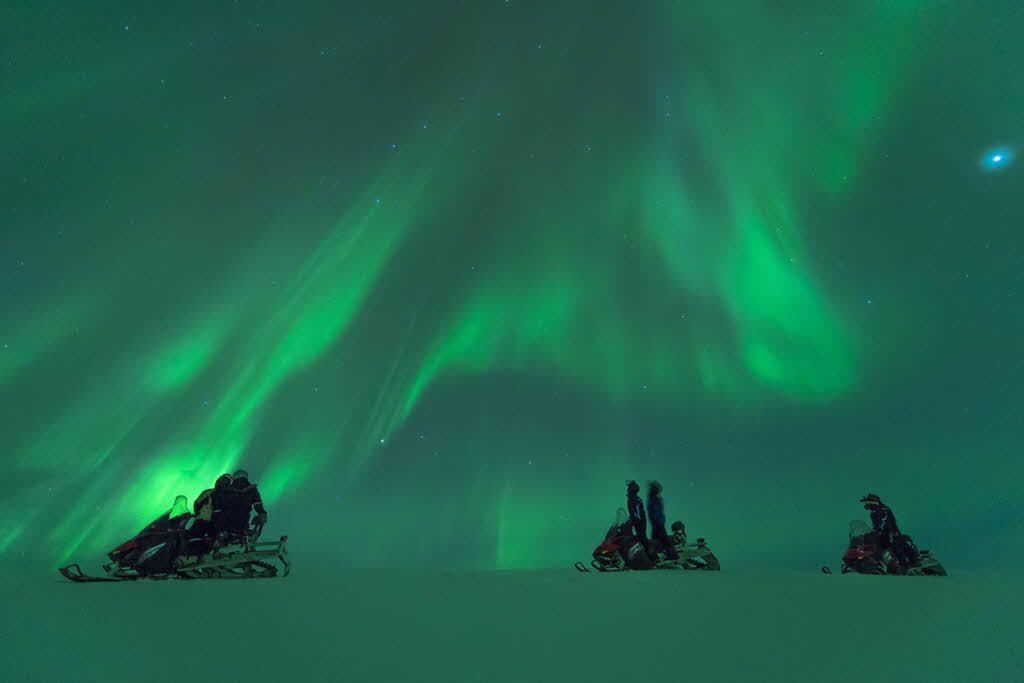 Snowmbile trip in Arctic Norway by Orjan Bertelsen, Hurtigruten