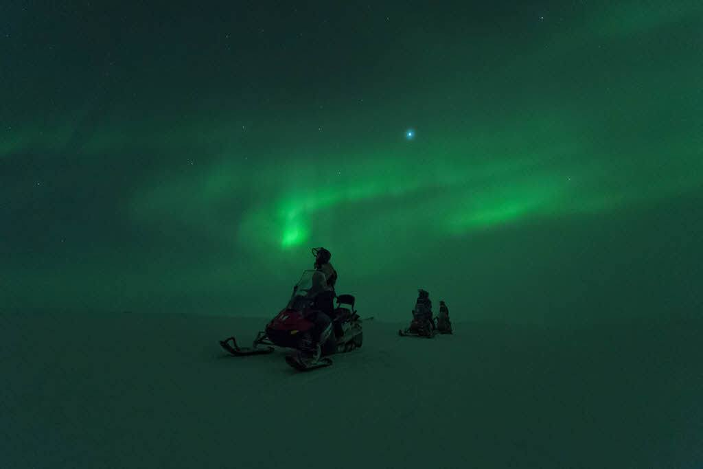 Snowmobile trip Arctic Norway by Orjan Bertelsen, Hurtigruten