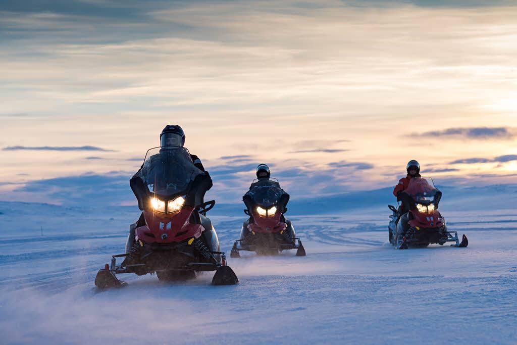 Snowmobile trip Tromso by Orjan Bertelsen, Hurtigruten