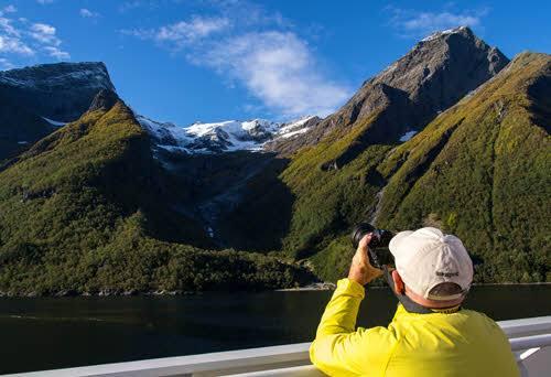 Spectacular Hjorundfjord by Simen Fangel, Hurtigruten
