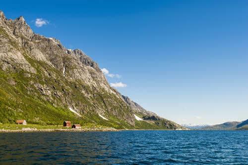 Stunning scenery close to Tromso by Tor Farstad, Hurtigruten