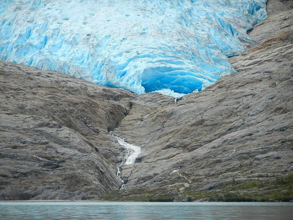 Svartisen Glacier by Ilka Kosik, Hurtigruten