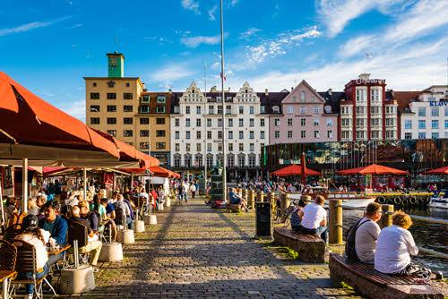 The heart of Bergen - the colorful fish market by Robin Strand, Visit Bergen