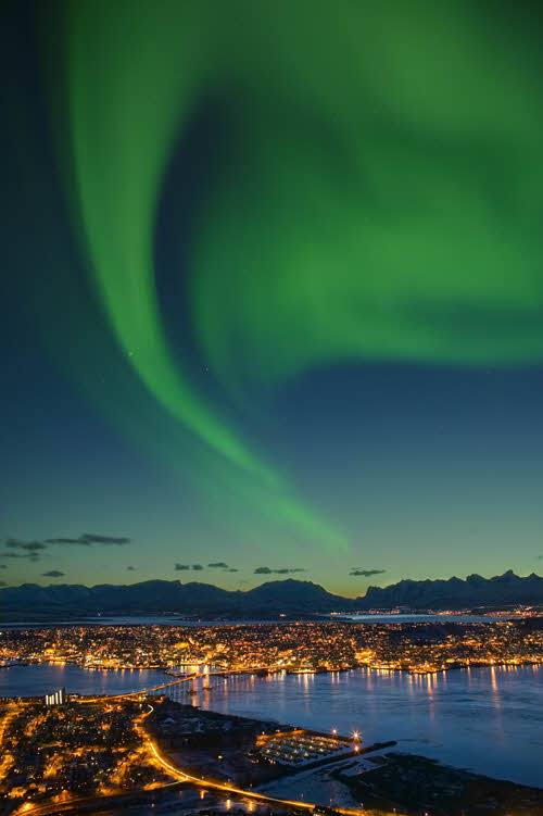 Tromso Northern Lights by Baard Loken, Visit Norway