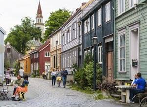 Trondheim Bakklandet by CH, Visit Norway