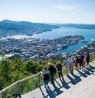 Beautiful located Bergen, by Sverre Hjornevik, Fjord Norway