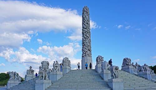 Vigeland Sculpture Park by Tord Baklund, Visit Oslo