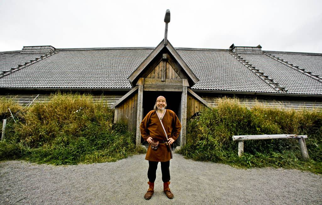 Viking Feast Lofoten Islands by Hurtigruten