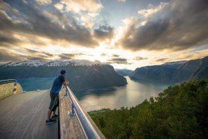 Stegastein by Sverre Hjornevik, Fjord Norway