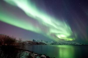 Northern Lights Norway. Photo by Gaute Bruvik. Nordnorsk Reiseliv